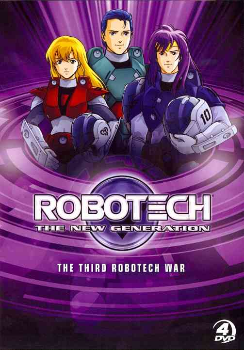 ROBOTECH: THIRD ROBOTECH WAR THE NEW G BY ROBOTECH (DVD) [4 DISCS]